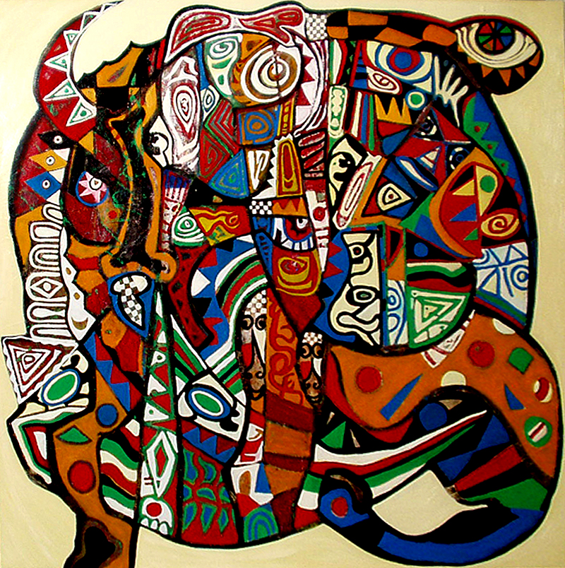 Le monde - artiste peintre vence