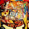 Le soleil - artiste peintre vence