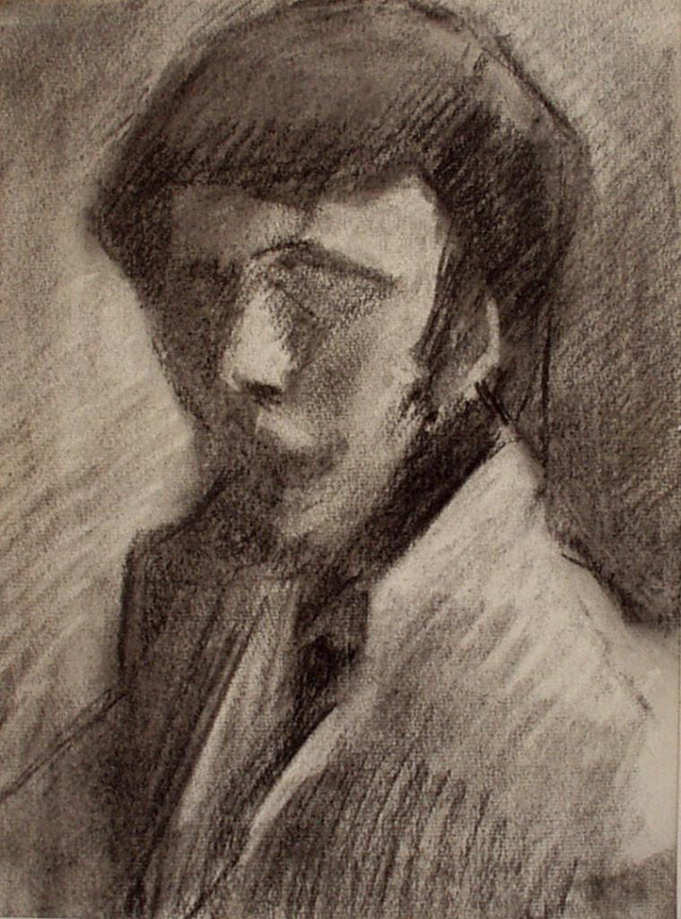 Auto portrait - Atelier Christian Ruiz Vence