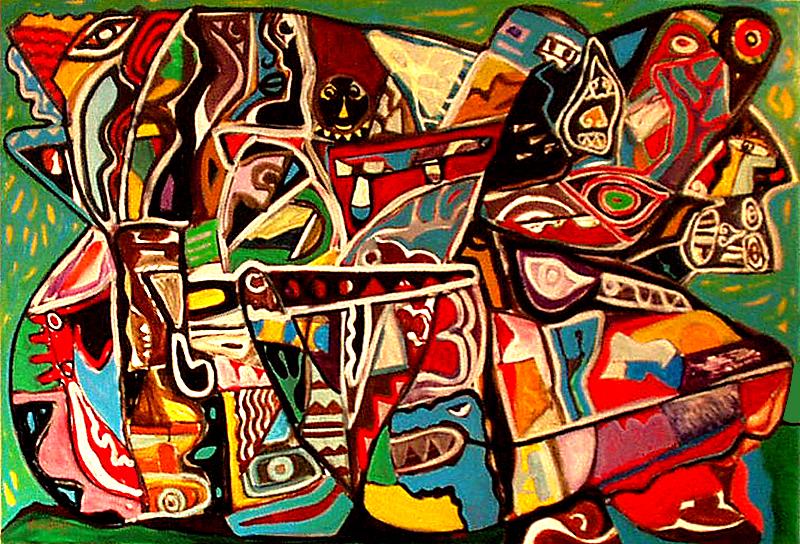 Le mur - artiste peintre vence