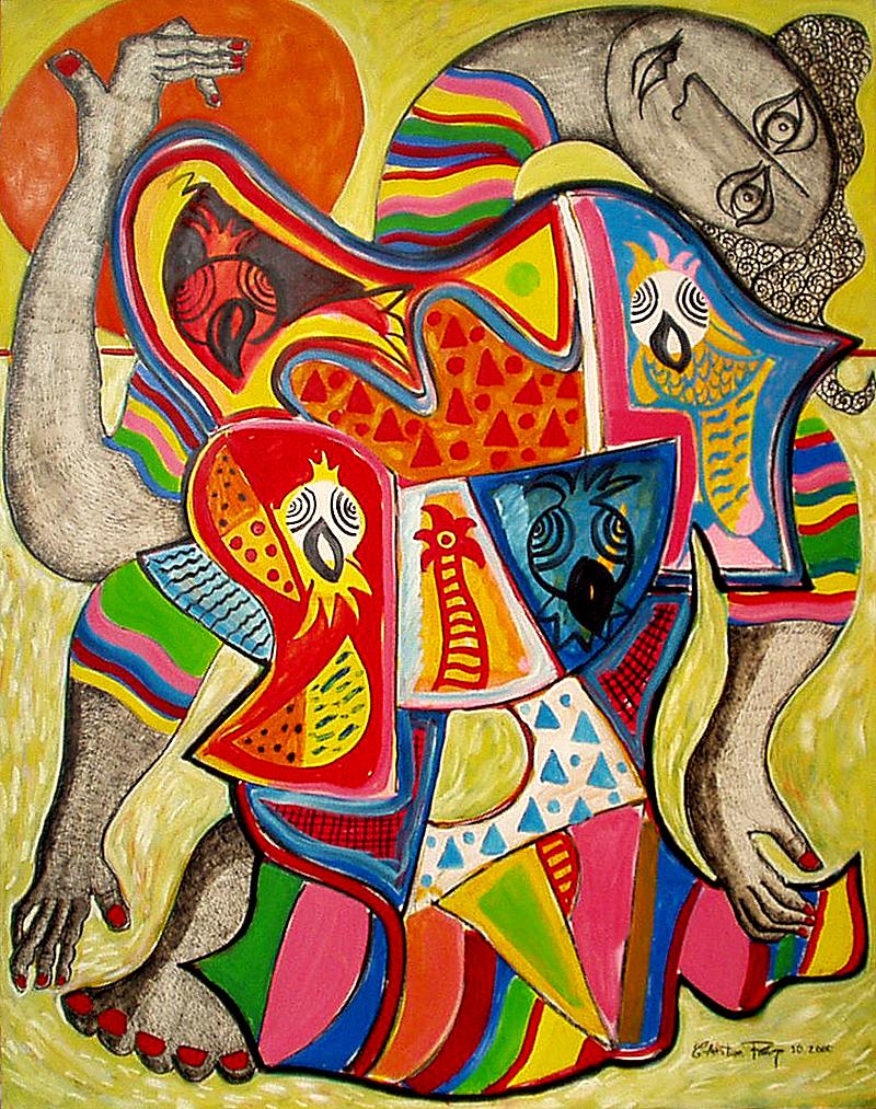 Jaco et Ara - artiste peintre Vence