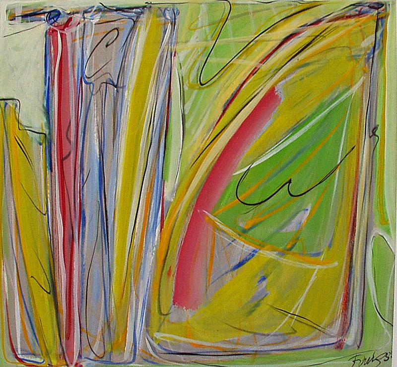 La cascade - Atelier Christian Ruiz Vence