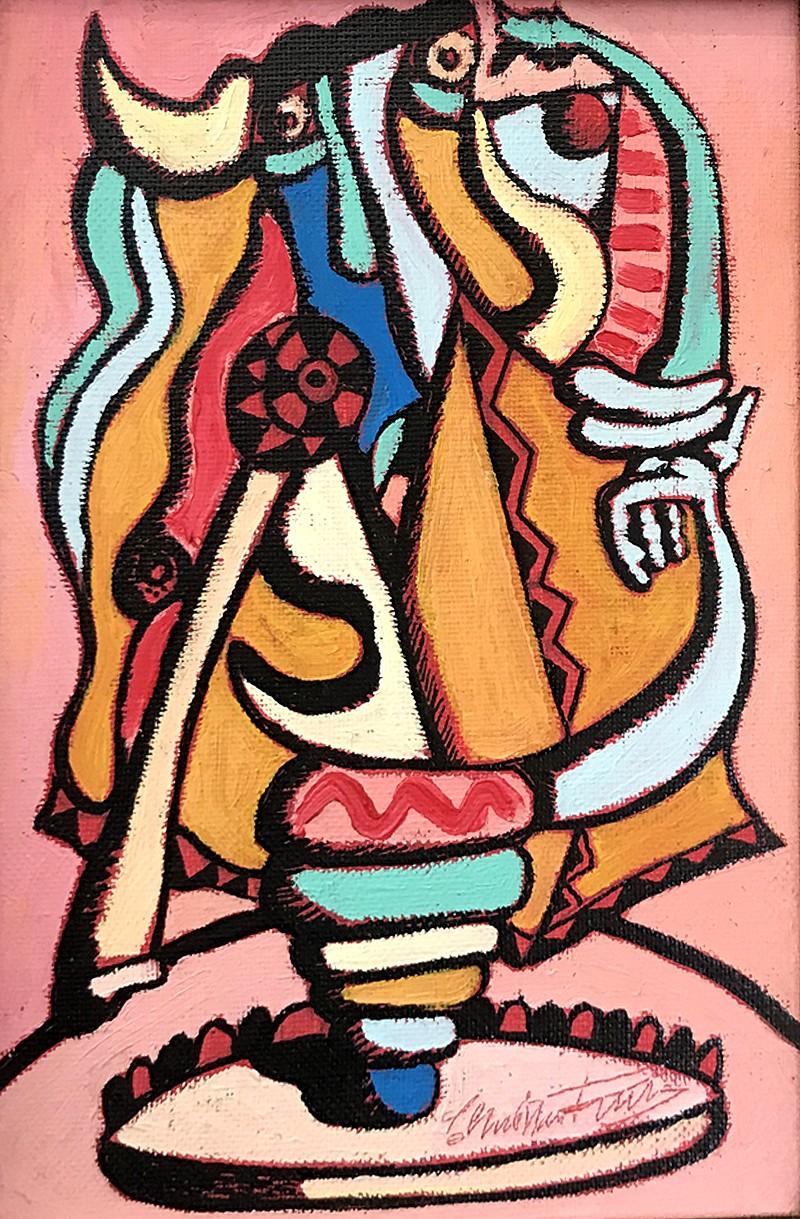 La communion - artiste peintre vence