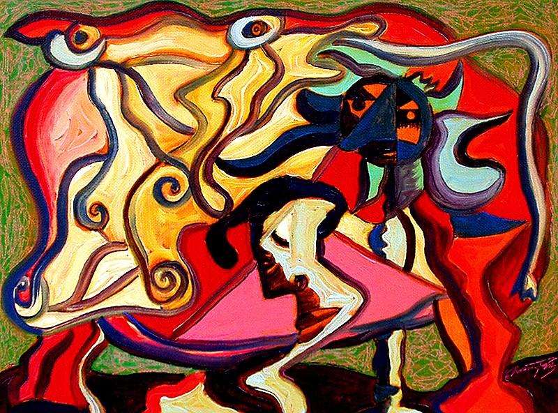La dragée haute - artiste peintre vence