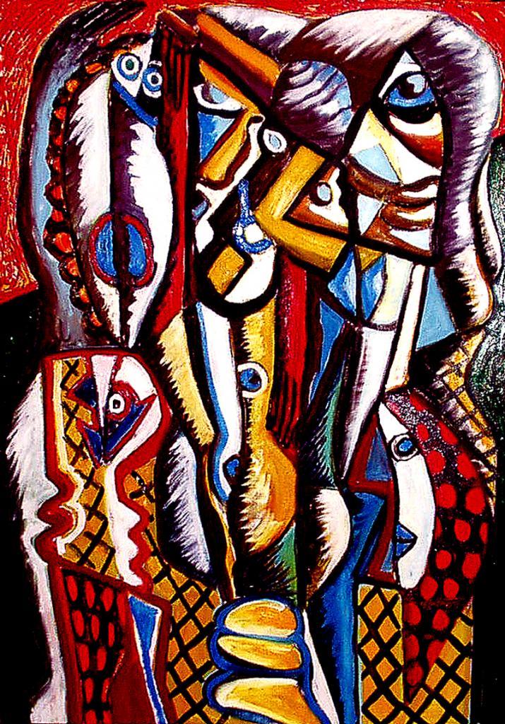 Damier - artiste peintre vence