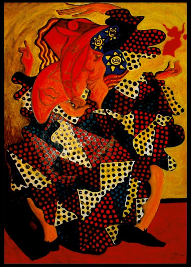 La gitane -  artiste peintre vence