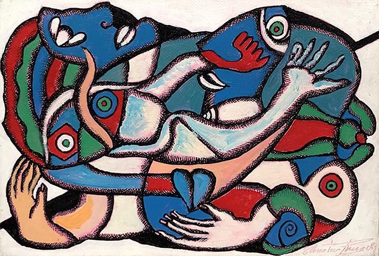 La grande bleue - artiste peintre vence