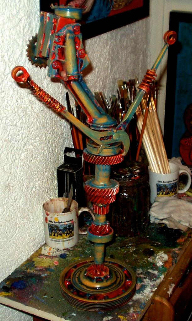 La pince -  Atelier Christian Ruiz Vence