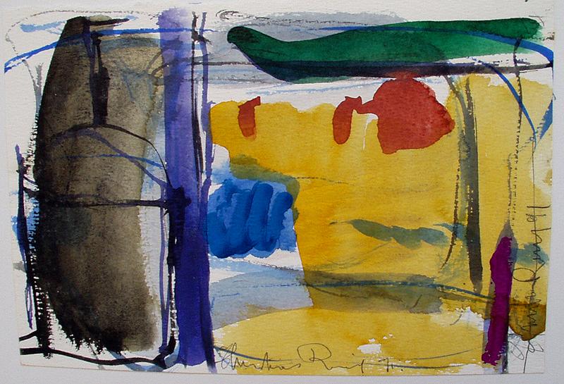 La plage - Atelier Christian Ruiz Vence