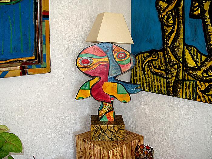 Lampe D - ( disponible de suite )