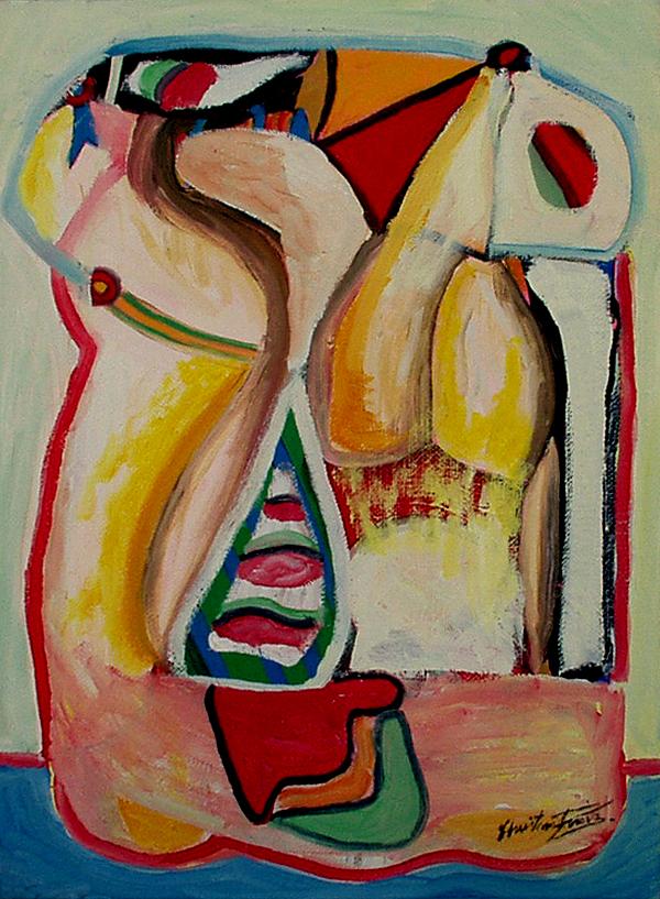 Le paresseux - artiste peintre vence