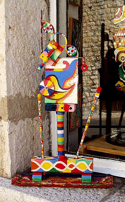 Le peintre -  Atelier Christian Ruiz Vence