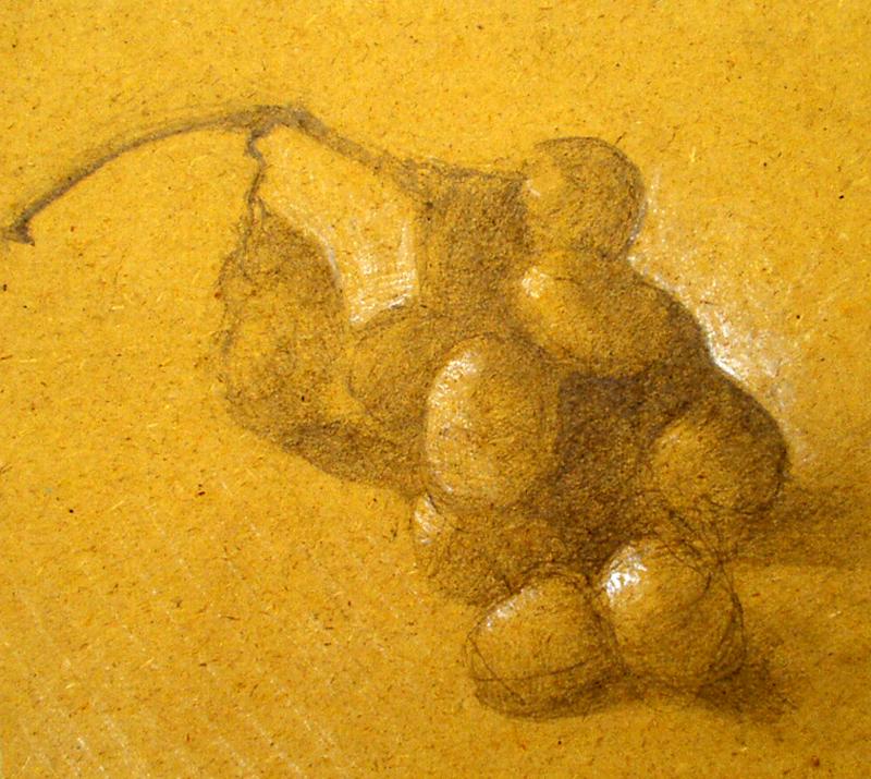 Le raisin - Atelier Christian Ruiz Vence