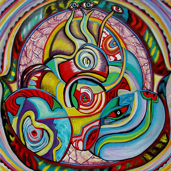 Le regard - artiste peintre vence
