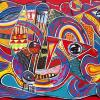 Le trafic - artiste peintre Vence
