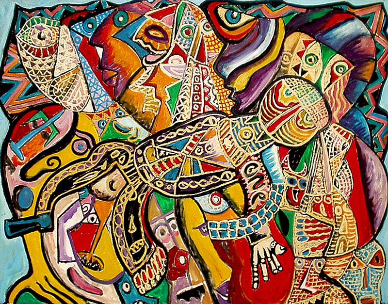 Le vol - artiste peintre vence
