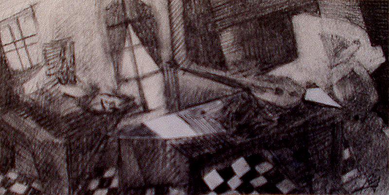Mandoline -  Atelier Christian Ruiz Vence