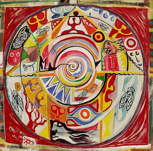 Manege de cigales - artiste peintre vence