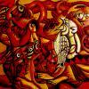 Le hiboux - artiste peintre vence