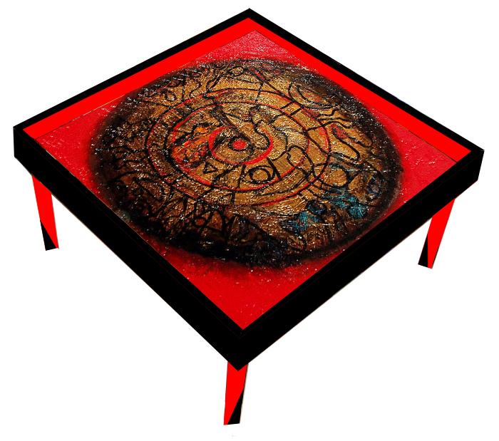 Table basse B - Idée de commande