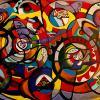 Tourbillon de la vie - artiste peintre Vence
