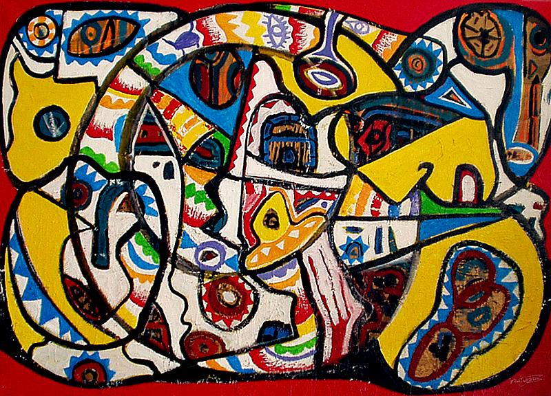 Une vie dédiée à l'art - artiste peintre vence