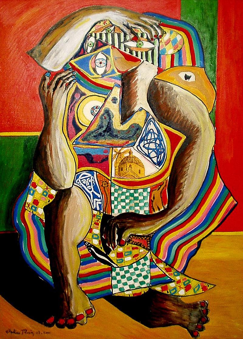 une grande intensité - artiste peintre Vence
