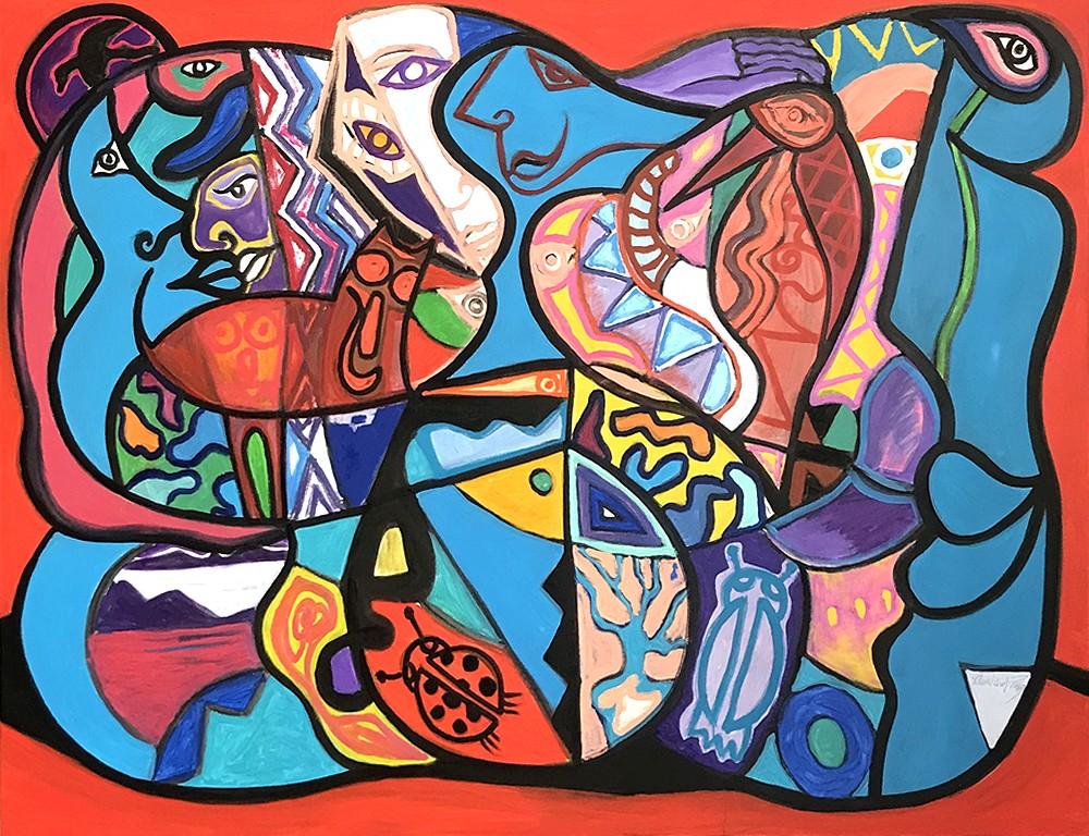 Une obsession - artiste peintre Vence