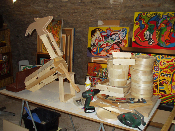 Fabrication atelier