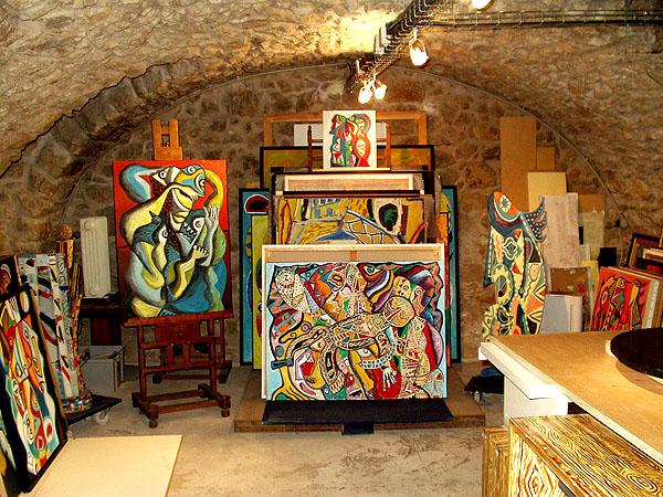 Sous sol atelier